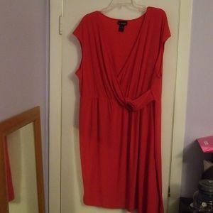 Lane Bryant red dress